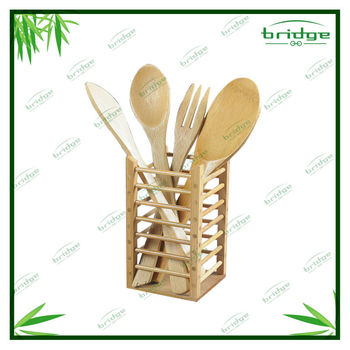 bamboo classic kitchen utensil set