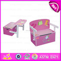 2015 Best seller cheap kid wooden storage box,Multifunction wooden toy storage box,Storage box can change to study table W08G017