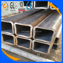 High quality Q195-Q345 carbon steel inch weight ms square rectangular hollow pipe supplier manufacturer galvanized welded black