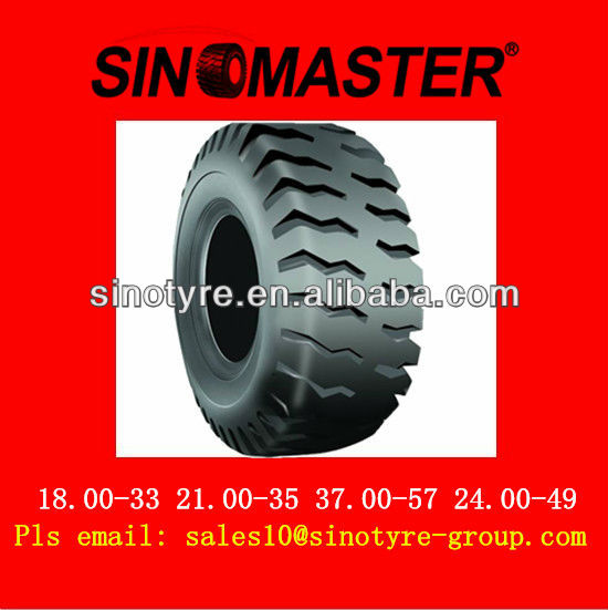 OTR tyre E4 with high quality tyre manufacturer