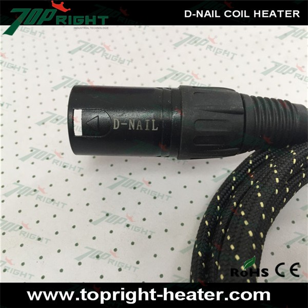 Wholesale portable e nail d nail electric heating coil <strong>heater</strong> 16 mm 20 mm for enail diy, 5 pins 150W