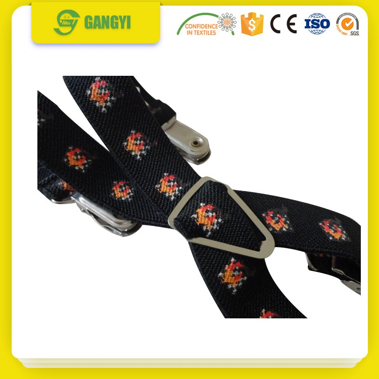 30mm weaving polyester black elastic webbing factory directly shipping