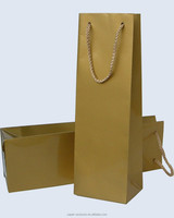 kraft paper bag shopping industry use paper wine bags