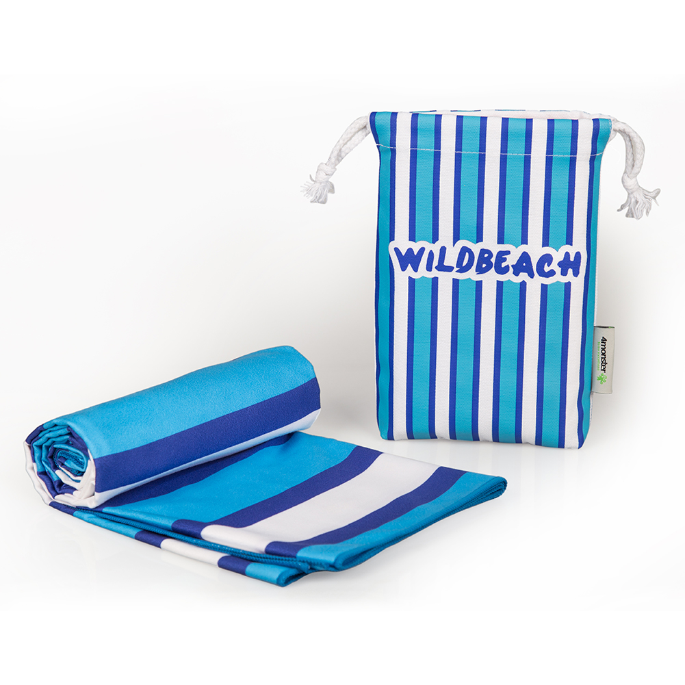 Personalized High quality printed Microfiber wholesale towel Sport Beach Towel
