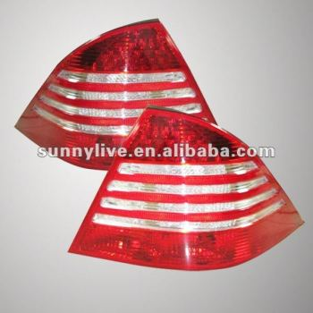 Benz W211 E200 E230 E240 E280 E320 Tail Lamp 02 to 08 year Red White Type