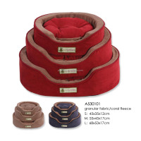 3 size available,Quality luxury pet dog bed wholesale