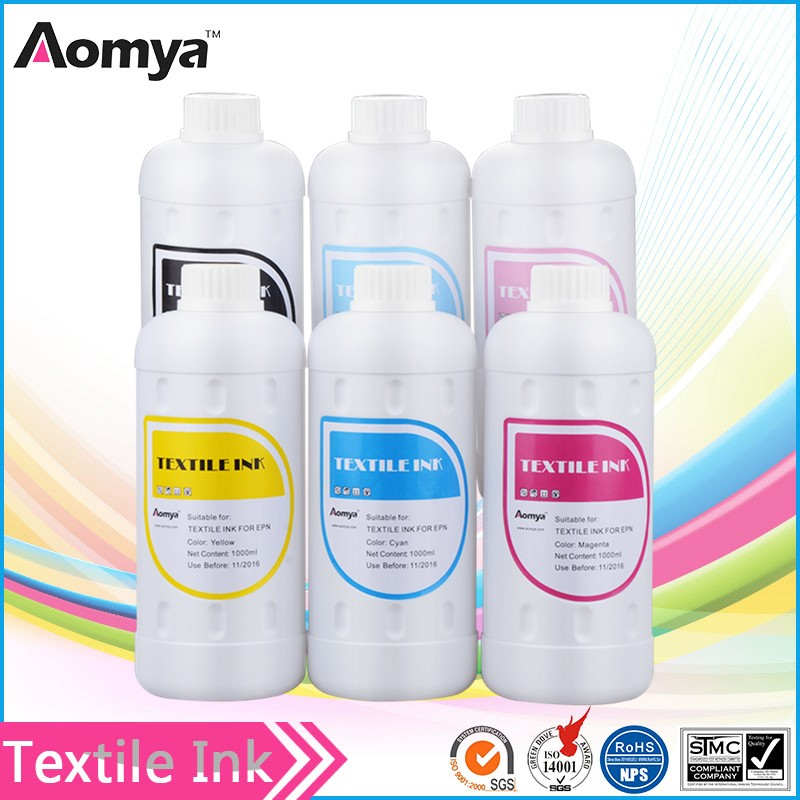 High quality DTG textile ink for Epson printer T shirt printing