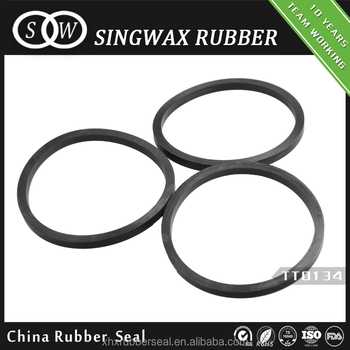 Customized excellent rebound elasticity EPDM rubber flat gasket