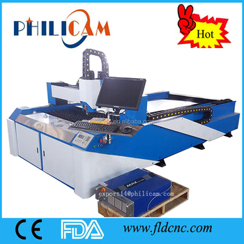 CE standard 200w 300w 350W fiber metal laser cutter for stainless steel / carbon steel / other metal