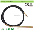 hot sale high quality japan type concrete vibrator hose