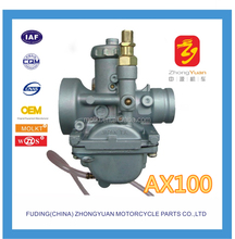 ATV MOTORCYCLE,motorcycle accessories AX100 carburetor Two stroke motorcycle carburetor
