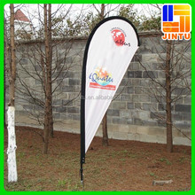 Wholesale feather teardrop flag banners advertising promotion