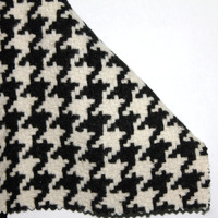 2014 Fashion Women Houndstooth Woolen Cloth Fabric