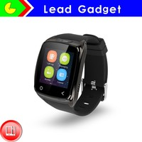 "2015 New Intelligent Watch 1.54"" Fashion Men Smart Watch for Iphone/android Phones with Camera Bluetooth"