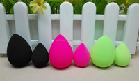 Mini type teardrop shape pink latex free polyurethane makeup sponge