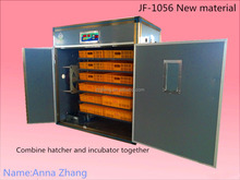 Automatic WQ-1056 chicken egg incubator hatchery 1056 eggs new type
