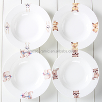 2016 Grace new design ceramic soup plate