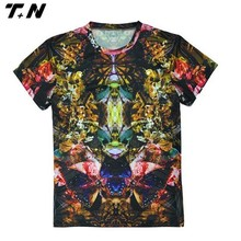 Latest model hotselling sublimation t shirt