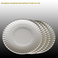 Disposable White Paper Plates Supplier