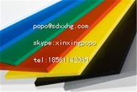 china HDPE sheet/ panel polyethylene sheets thickness high sliding extruded green hdpe polystyrene sheet