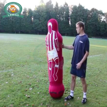 inflatable keeper sport dummy show inflatable soccer dummy for sale