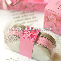 Empty valentine's day heart shaped tin cans wholesale
