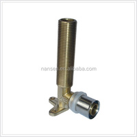Brass Long Male Elbow with Wing press fittings