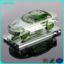 Optical glass classics Crystal gift Lincoln car model