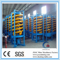 spiral chute gravity separation equipment,gold mining equipments