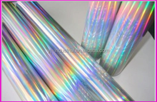 seamless rainbow hologram hot stamping foil
