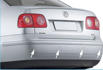 Front or rear reverse sensors with 2/4/6/8 sensors for choose