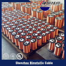 Diameter 0.10-10.00mm Copper Clad Aluminum Wire CCA Enameled Wire for motor,transformer, coil winding wire
