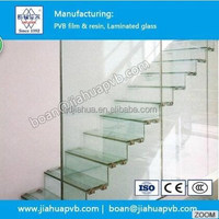 building safety laminated glass made from pvb film
