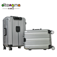 New Style Wheel Travel Bags Carry On Custom Tag Abs Luggage In GuangZhou
