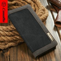 2016 new cheapest jean cowboy leather case for iphone 6 plus 5.5 with credit card slot, leather cases for iphone6