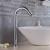 FLG Automatic Sensor Bathroom Faucet Mixer Tap(single Cold) with 304 stainless steel material