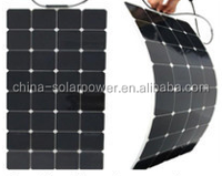 2015 Factory direct sale high quality flexible amorphous silicon solar panel for home use