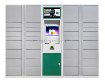 Different types factory price steel parcel locker