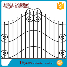 Brand new ornamental wrought iron fences manufacturers /used iron fence
