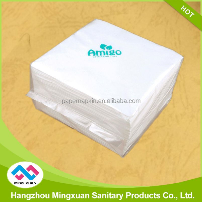 OEM Manufacture 1Ply Printed Lunch Napkin Tissue