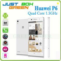 "Competitive Huawei Ascend P6 Mobile phone 4.7"" Android 4.1 Quad Core 1280 *720 Built in GPS/Bluetooth/Wifi/G-sensor"