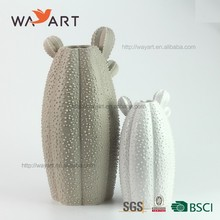 BSCI Audit Hot Sale Cactus Design Ceramic Vase For Home Decoration
