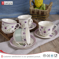 Coffee Cups And Saucers/Cheap Tea Cups And Saucers/Porcelain Tea Cups And Saucers