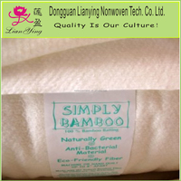 Natural material wool/cotton/bamboo batting in roll