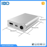 2016 alibaba hotsale newest mobile phone power charger,shenzhen IBD factory external power bank with quick charge 2.0 for lenovo