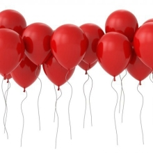 # party Decoration# manufacture direct <strong>12</strong>-inch 2.8g good quality red balloons