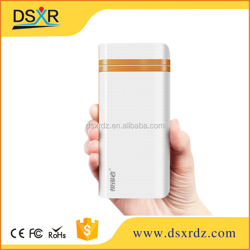 2016 good design high end 10000mah portabale power bank for iphone notebook