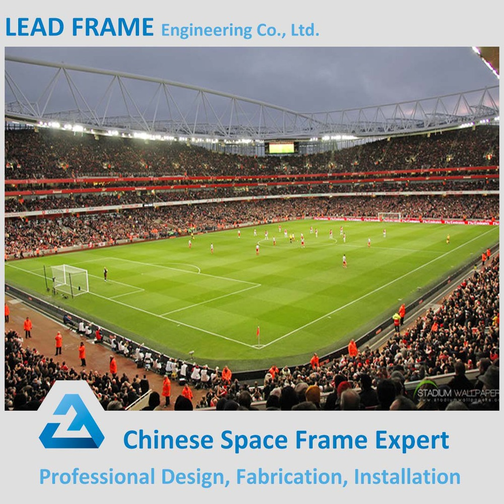economical space frame steel structure sport hall