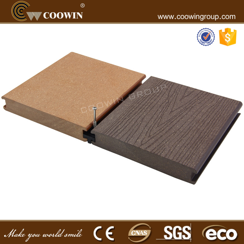 insect-resistant rubber wood plastic composite decking tile
