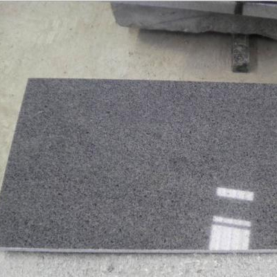 Chinese Grey Flamed Brushed Surface G603 Granite Floor Tile
